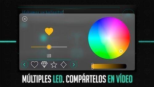 Captura imagen 1  Display Go aplicacion mensajes led